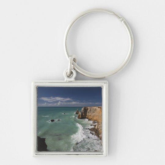 Puerto Rico, West Coast, Cabo Rojo, coastline 2 Keychain