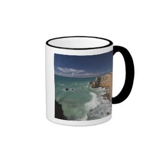 Puerto Rico, West Coast, Cabo Rojo, coastline 2 Mugs