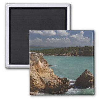 Puerto Rico, West Coast, Cabo Rojo, coastline 3 Magnets