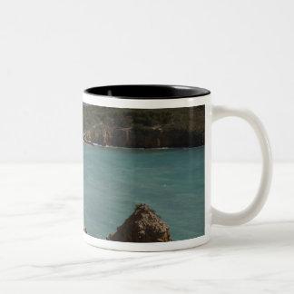 Puerto Rico, West Coast, Cabo Rojo, coastline 3 Coffee Mugs
