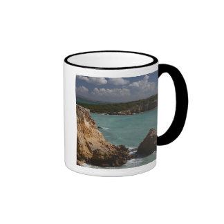 Puerto Rico, West Coast, Cabo Rojo, coastline 3 Coffee Mug