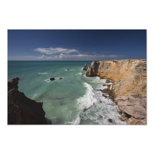 Puerto Rico, West Coast, Cabo Rojo, coastline Photo Print