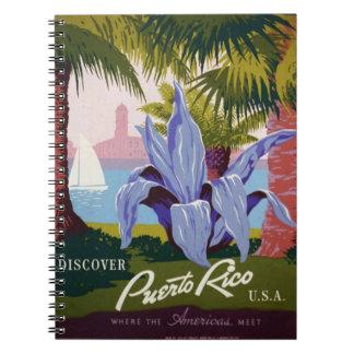 Puerto Rico - Where the Americas Meet Note Books