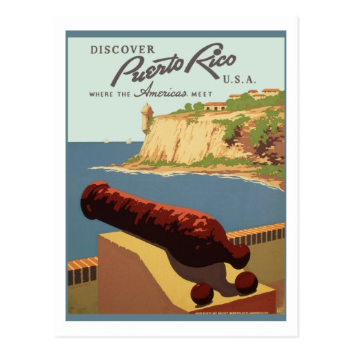 Puerto Rico (wpa) Postcards