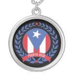 Puerto Rico Wreath Necklace