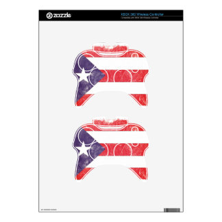 Puerto Rico Xbox 360 Controller Skins