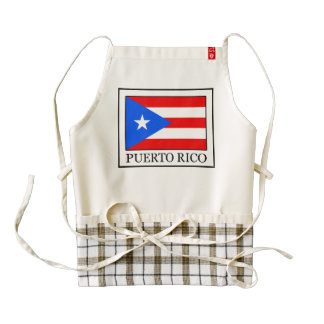 Puerto Rico Zazzle HEART Apron