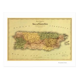 Puerto RicoPanoramic MapPuerto Rico Postales