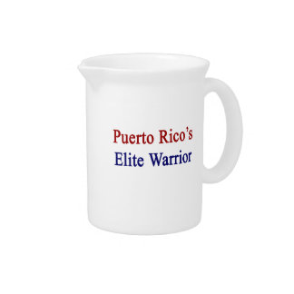 Puerto Rico's Elite Warrior Beverage Pitcher