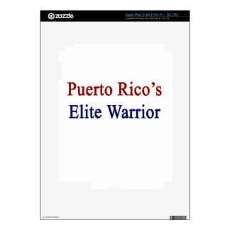 Puerto Rico's Elite Warrior iPad 3 Decal