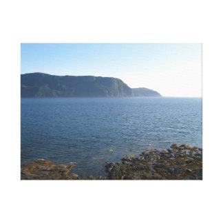 Puerto rocoso Terranova Canadá Impresiones En Lienzo Estiradas