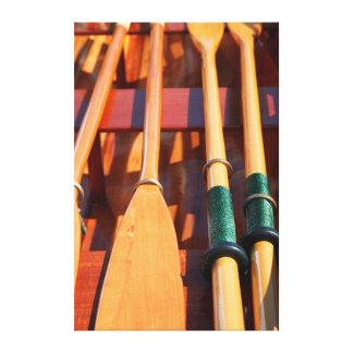 Puerto Townsend, festival de madera del barco Impresión En Lona Estirada