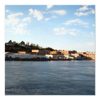 Puerto Townsend Invitación 13,3 Cm X 13,3cm