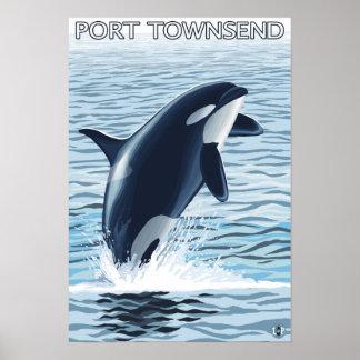 Puerto Townsend, salto de WashingtonOrca Impresiones
