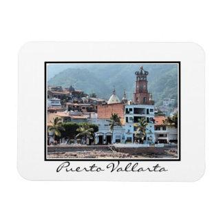 Puerto Vallarta downtown Flexible Magnet