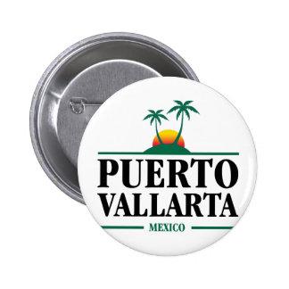 Puerto Vallarta Mexico Pinback Button