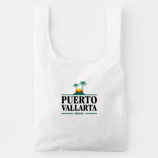 Puerto Vallarta Mexico Reusable Bag