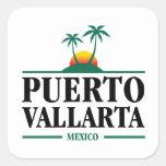 Puerto Vallarta Mexico Square Sticker