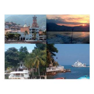 Puerto Vallarta postcard