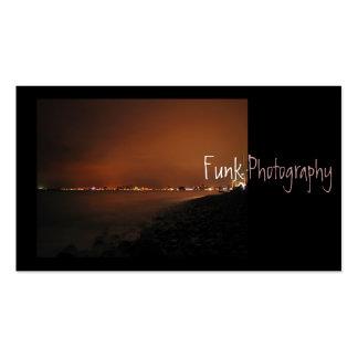 Puerto Vallarta Skyline at Night Business Cards