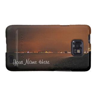 Puerto Vallarta Skyline at Night; Customizable Samsung Galaxy SII Case