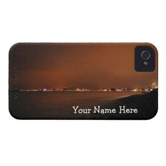 Puerto Vallarta Skyline at Night; Customizable iPhone 4 Cases