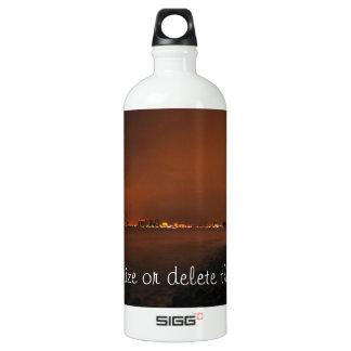 Puerto Vallarta Skyline at Night; Customizable SIGG Traveler 1.0L Water Bottle