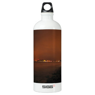 Puerto Vallarta Skyline at Night; No Greeting SIGG Traveler 1.0L Water Bottle