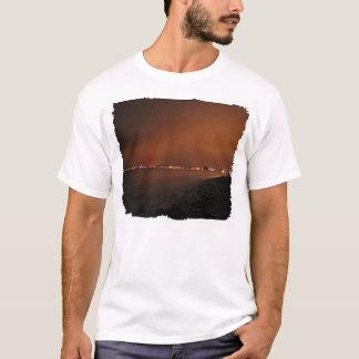 Puerto Vallarta Skyline at Night; No Greeting T-Shirt