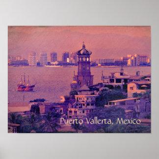 Puerto Vallerta Poster