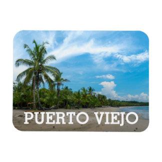 Puerto Viejo Beach Rectangular Photo Magnet