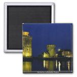 Puerto viejo, La Rochelle, Francia Imán