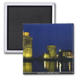Puerto viejo La Rochelle Francia Imán