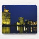 Puerto viejo, La Rochelle, Francia Tapetes De Ratón