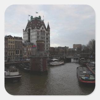 Puerto viejo, Rotterdam Colcomanias Cuadradases