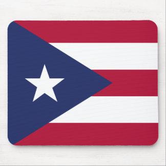 Puertorico flag mouse pad