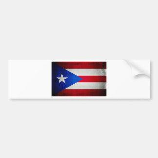 PuertoRicoFlag.jpg Car Bumper Sticker