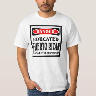 Puertorriqueño educado playera