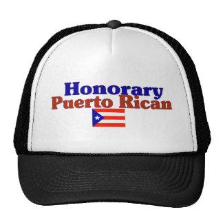 puertorriqueño honorario gorros