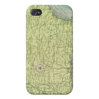 Puertos atlánticos americanos meridionales iPhone 4 carcasa
