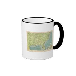 Puertos atlánticos americanos meridionales tazas