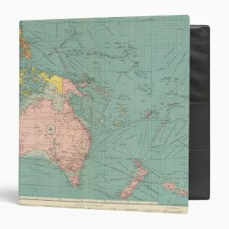 "Puertos Australasian, polinesios Carpeta 1 1/2"""
