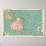 Puertos Australasian, polinesios Póster