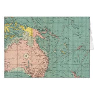 Puertos Australasian, polinesios Tarjeta