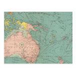 Puertos Australasian, polinesios Tarjetas Postales