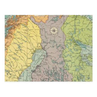 Puertos europeos septentrionales postal