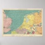 Puertos marítimos de Inglaterra Poster