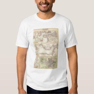 Puertos y puertos en la costa sur de Inglaterra 2 Camisas