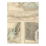 Puertos y puertos septentrionales en los Estados Postales