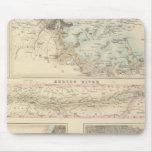Puertos y puertos septentrionales en los Estados U Mousepad